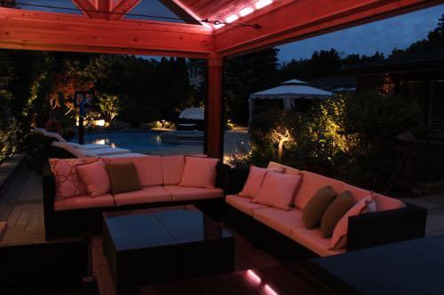LED cabana lighting